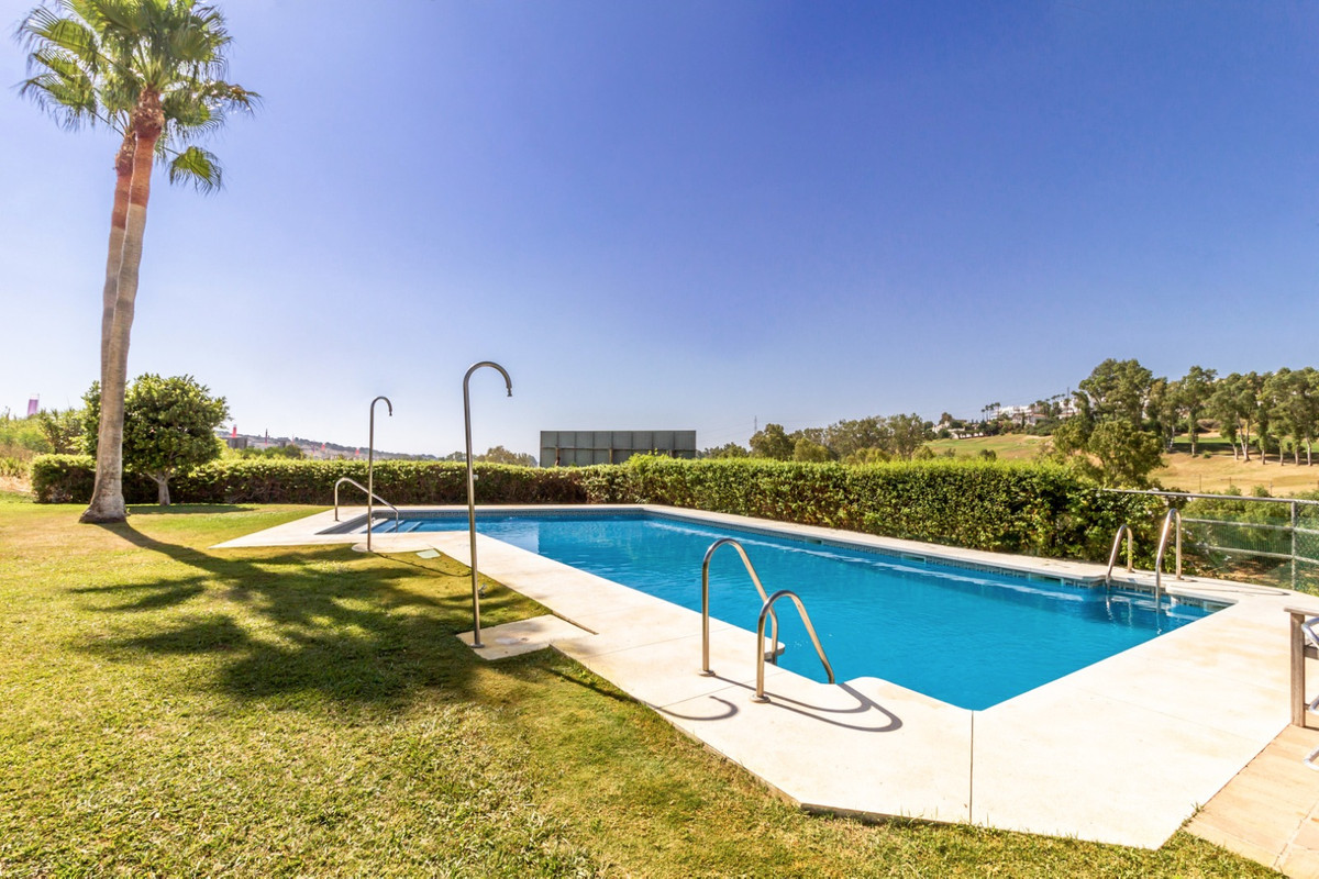 Semi-detached in first line golf, Estepona Golf with spectacular views towards sea and golf courses.,Spain