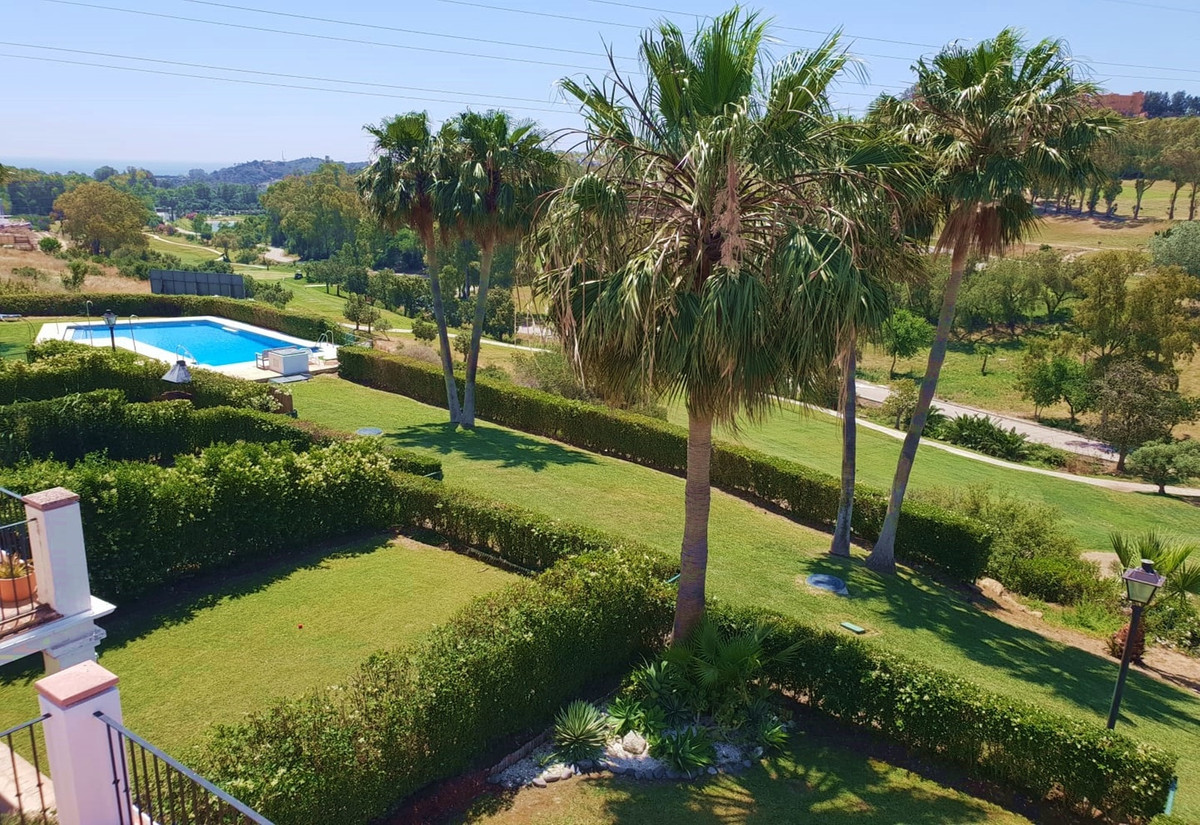 Beautiful Semi-Detached House/ Townhouse in first golf line, Estepona Golf with spectacular views to, Spain