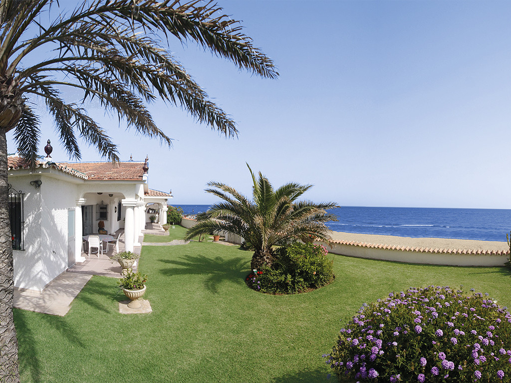 An impressive villa with its unrivalled beach location the villa  was built in 1969 bungalow-style a, Spain