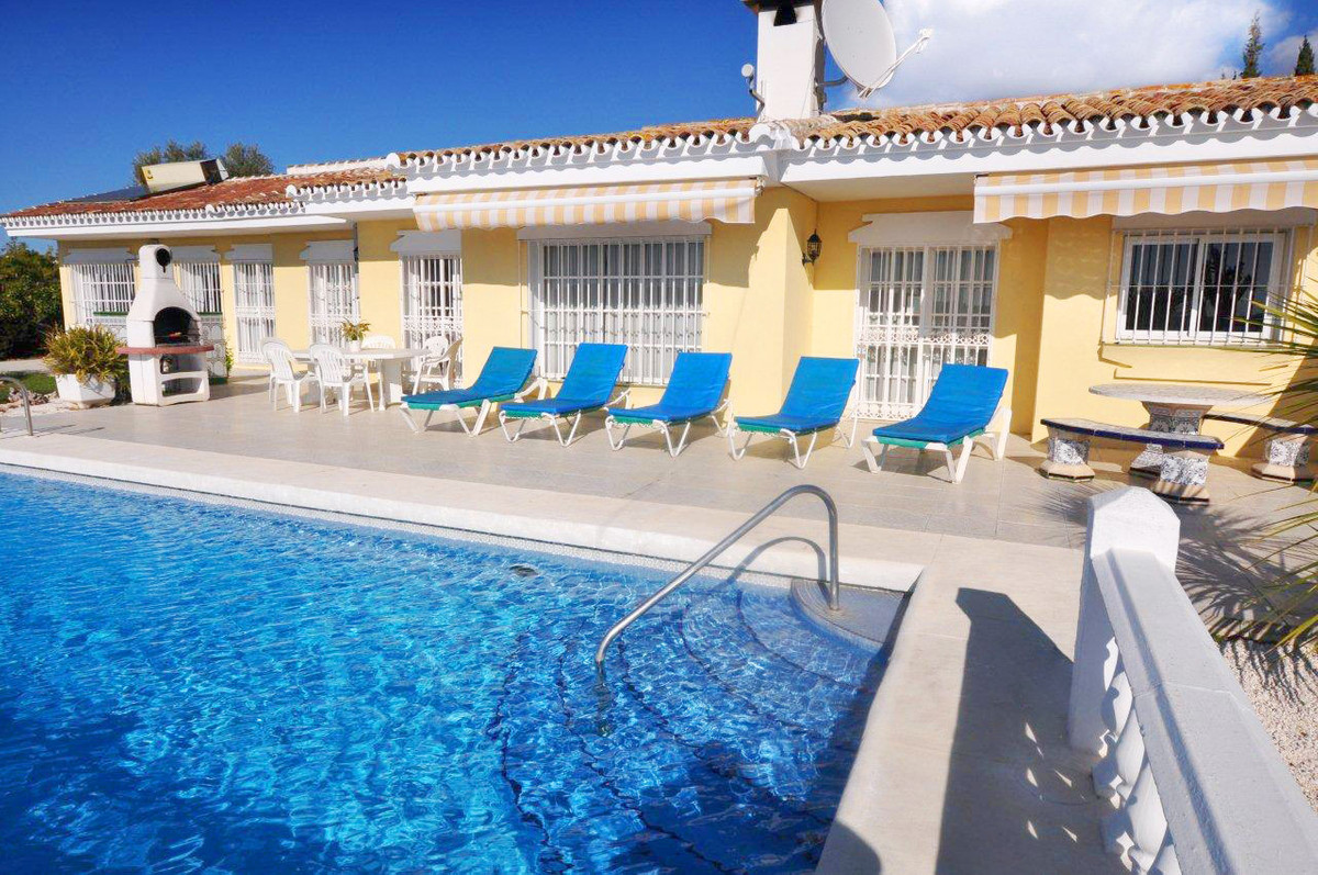 UNDER OFFER   A one level bungalow villa with panoramic nestled in a quiet cul-de-sac just a few hun, Spain