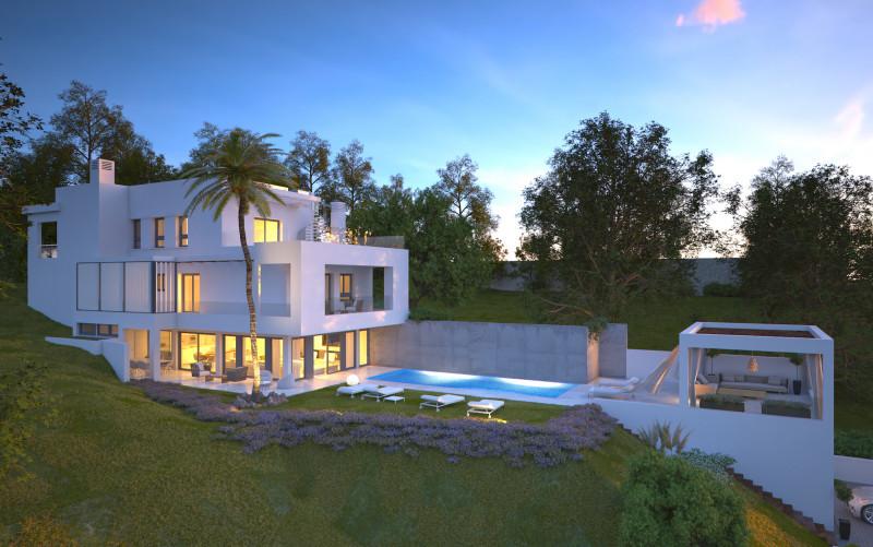 <p>New contemporary villa in the popular area of Elviria .</p> <p>This fantastic v,Spain