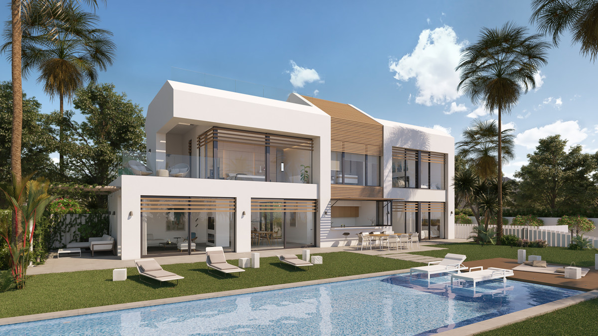 IMARE: A unique newly built contemporary 4-storey signature villa set on an irreplaceable beachfront, Spain