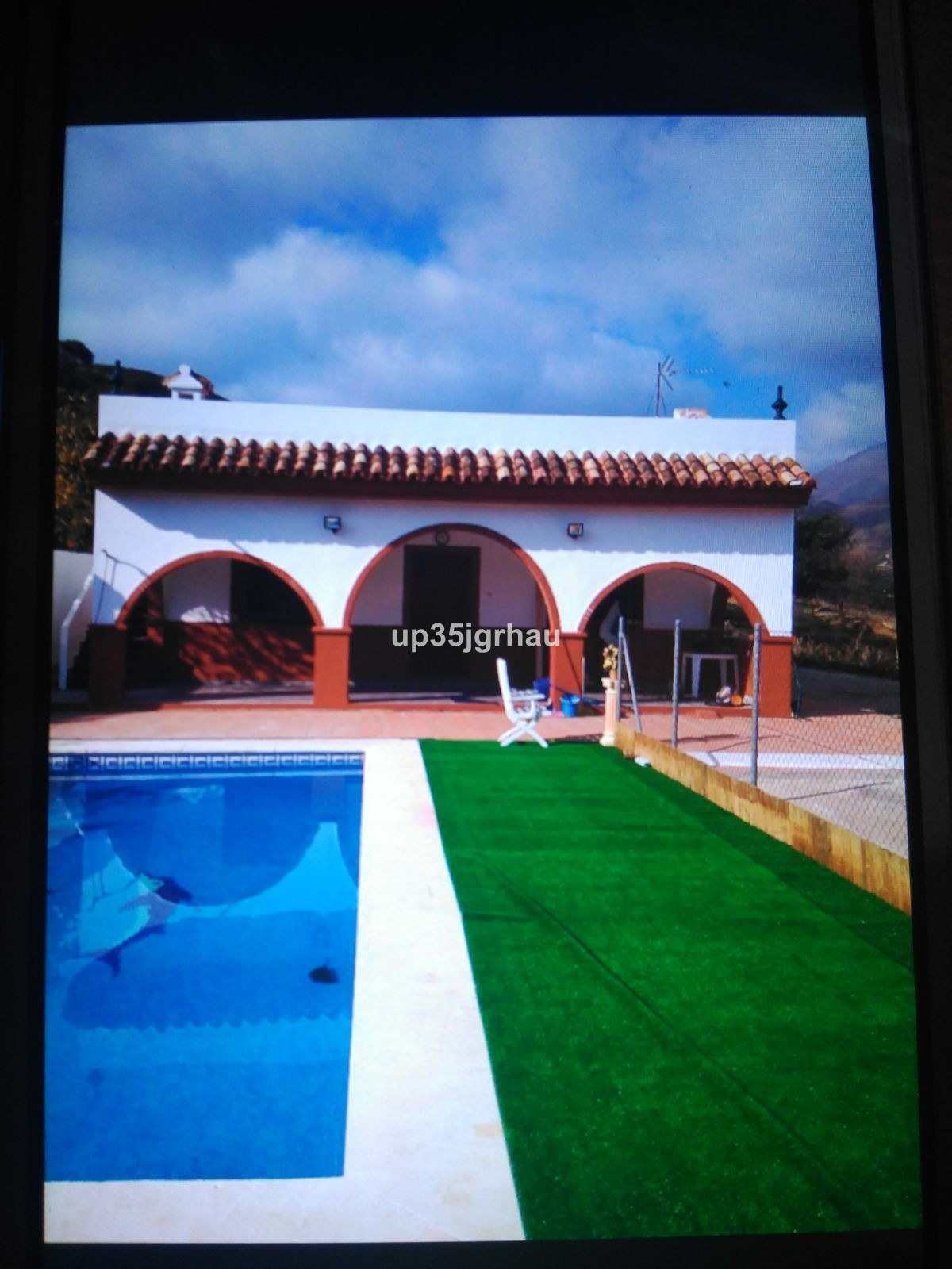 exclusive for sale a plot with 4 homes built, two swimming pools, large parking areas and sea views.,Spain