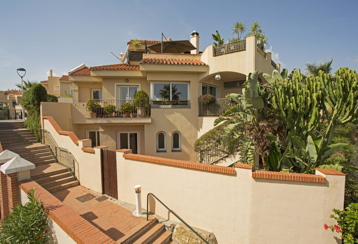 Recently renovated semi detached villa with panoramic views toward the sea.  Distributed over three ,Spain