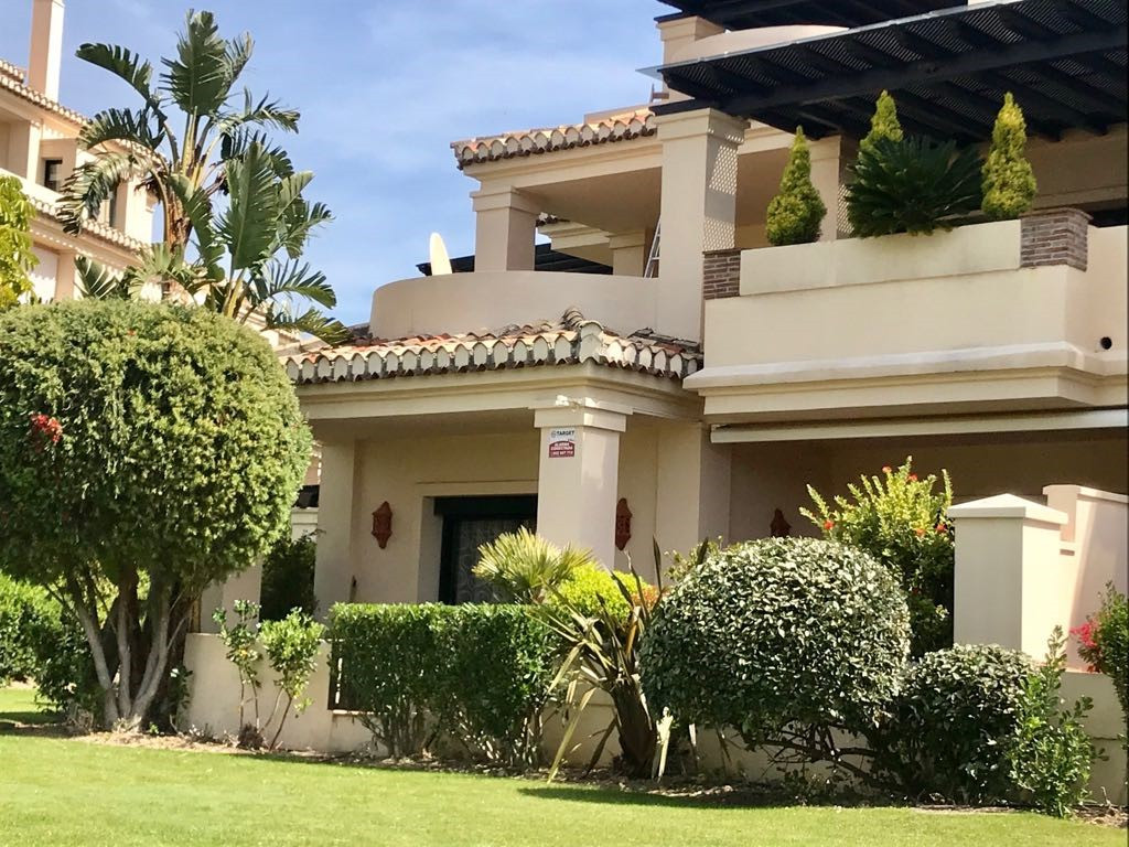 This ground floor apartment on Capanes del Golf has been the subject of considerable upgrades and im,Spain