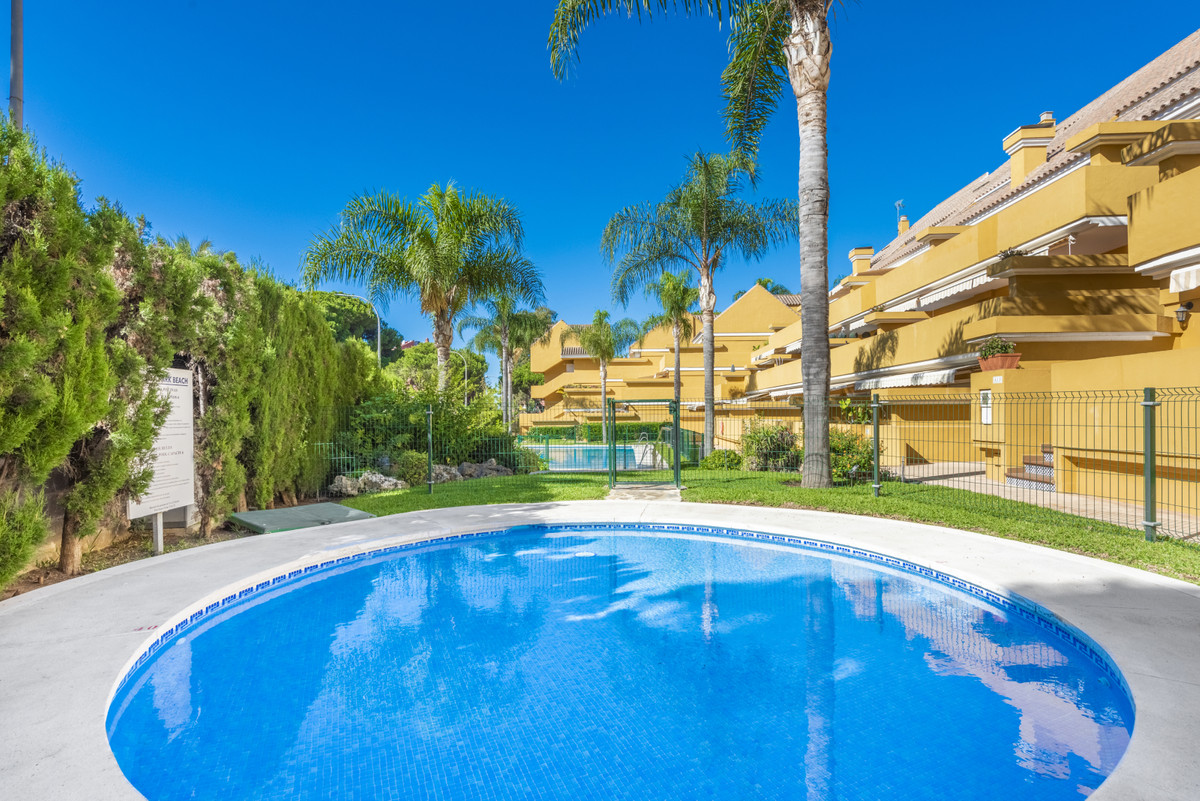 Newly refurbished beach-side ground floor apartment set in a small gated development, located only 2,Spain