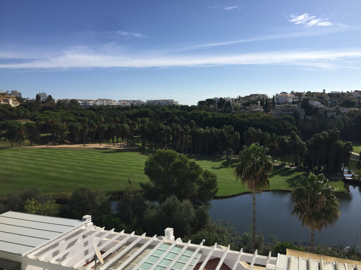 This house has amazing panoramic views to the golf course and to the coast. The apartment has a mode, Spain