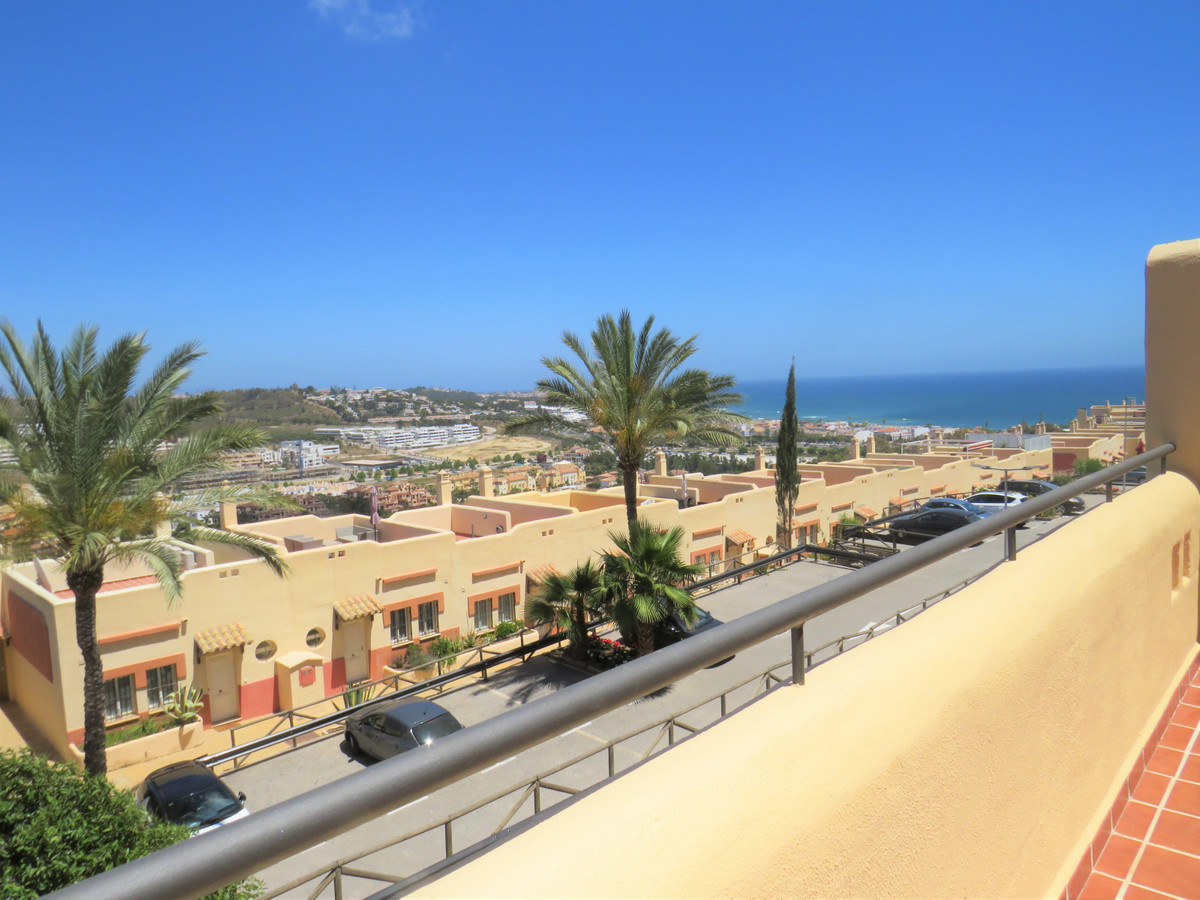 appartment duplex in a tranquil area of La Cala de Mijas with very nice panoramic sea views and only,Spain
