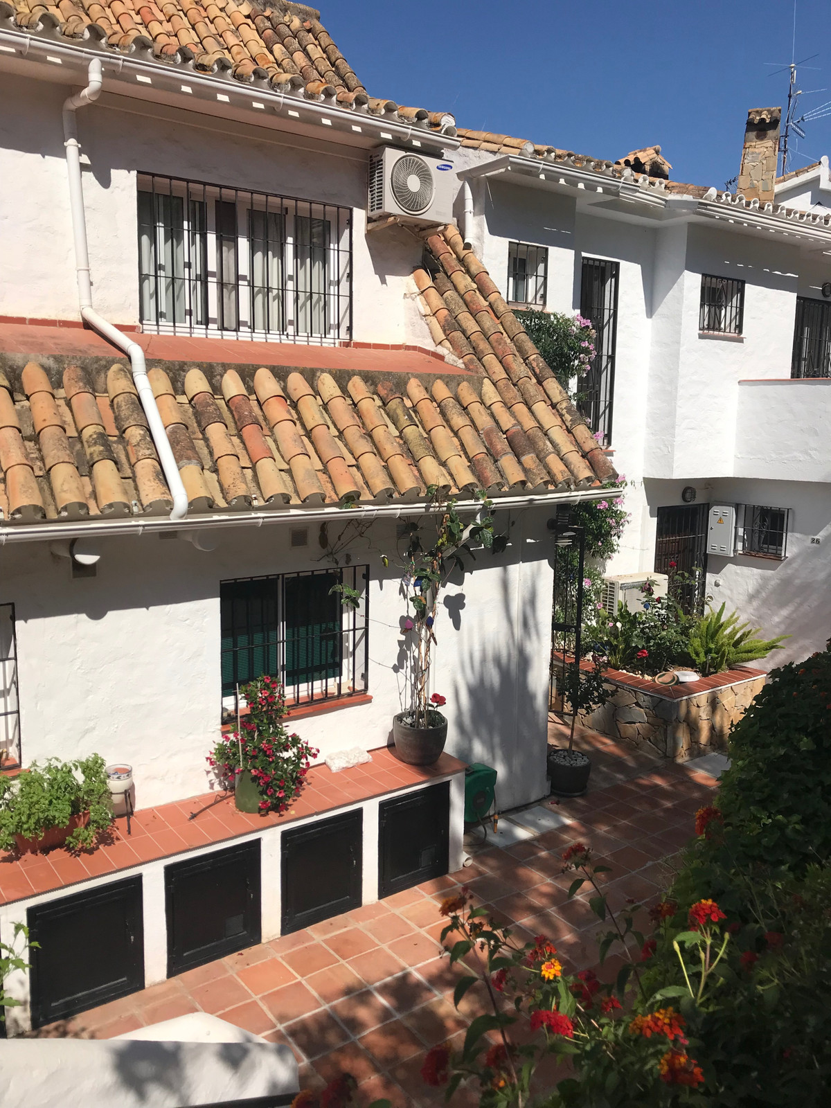 A charming townhouse in traditional spanish style in an urbanisation in Campo Mijas. Peaceful and pr, Spain