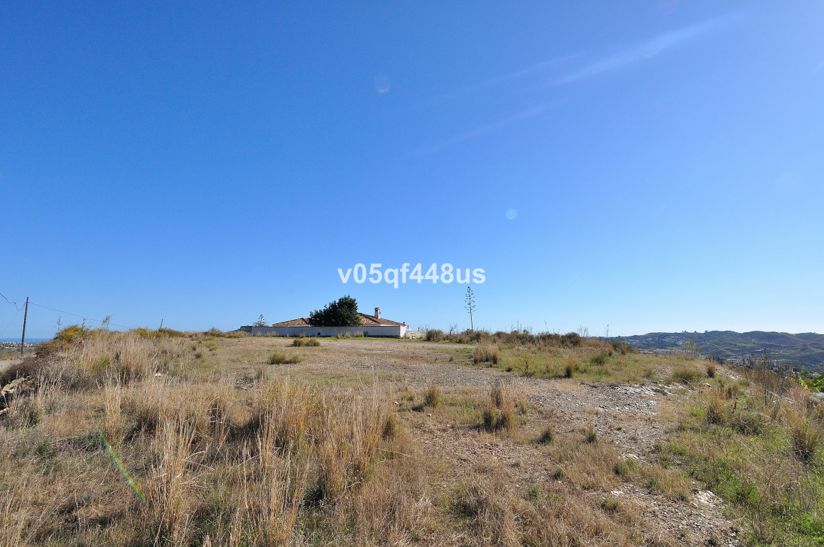 Plot for villa, Mijas, Costa del Sol. Nice plot of 782 square meters in high position above Mijas Go, Spain