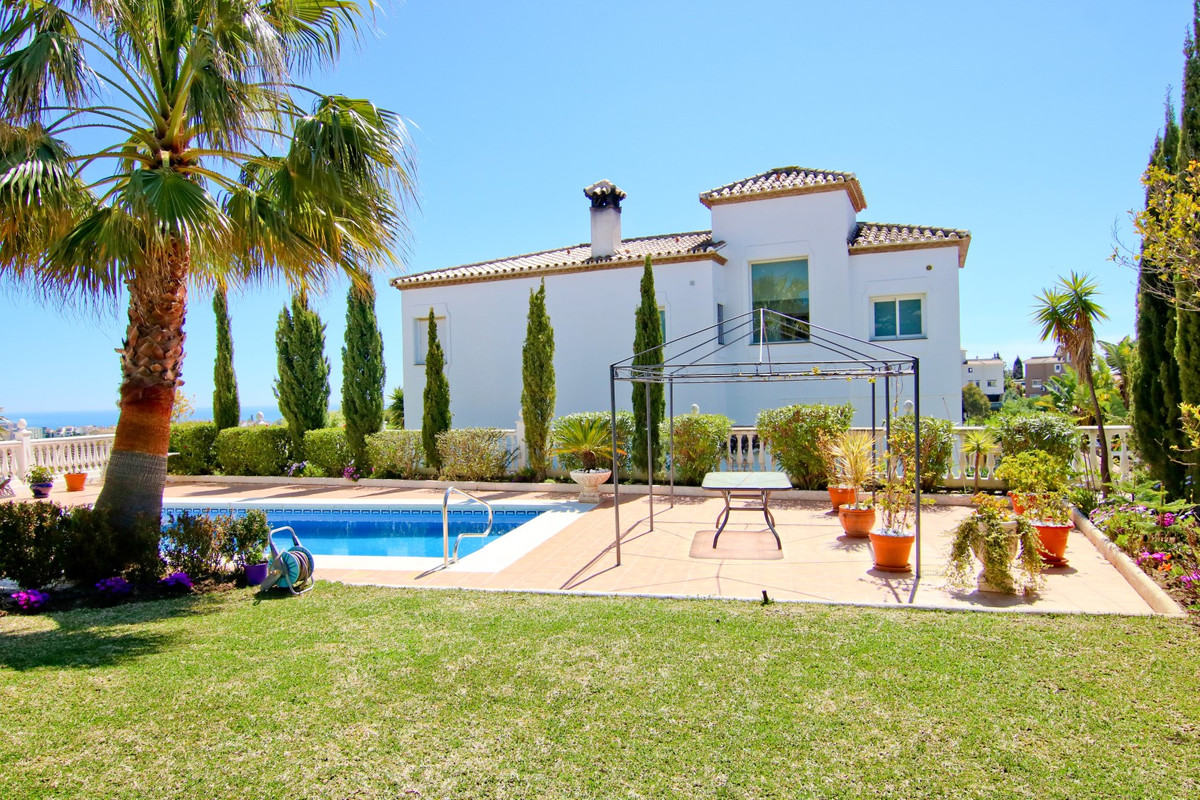3 Floor Villa in quiet urbanization in Campo Mijas area, divided into a main floor with large entran, Spain