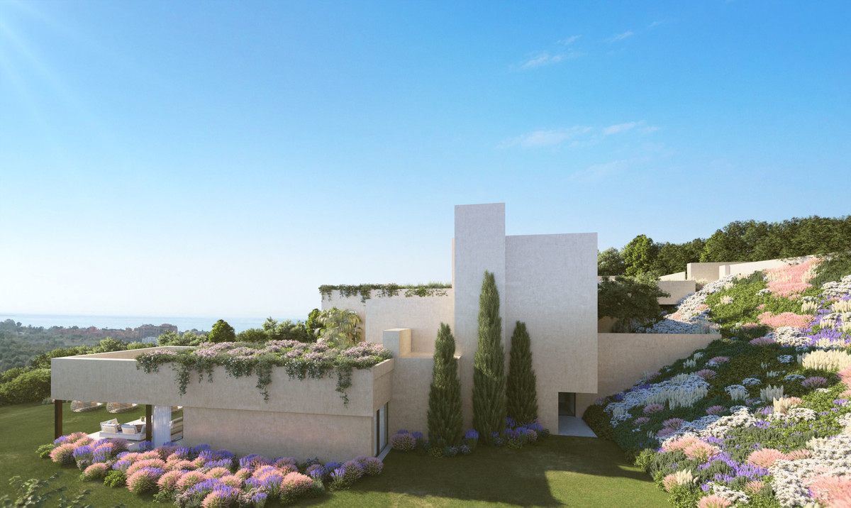 Luxury Modern and Contemporary Villa in Los Flamingos  Upper Floor: Street Level:  The house entranc,Spain