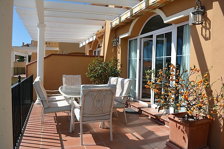 Lovely south-facing semi-detached house with great sea views.  The property has been totally reforme,Spain