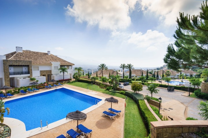 """The property is located in a gated complex """"Monte Alto"""", an exclusive development of 102 l,Spain"""