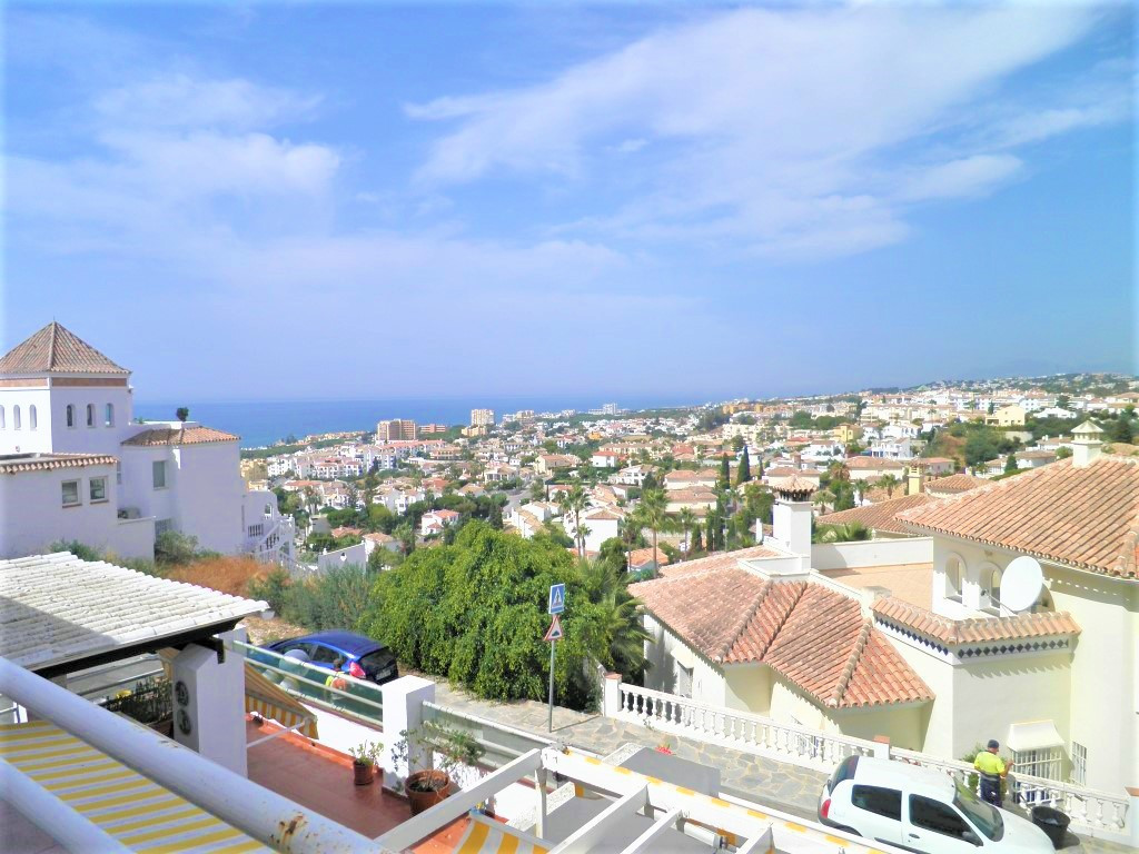 (057) A well-maintained 2 bedroom, 1 bathroom apartment with fantastic panoramic views of the coast , Spain