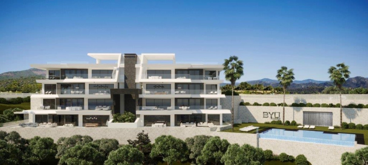 We would like to introduce you to a luxurious new construction project in boutique style, on a uniqu,Spain
