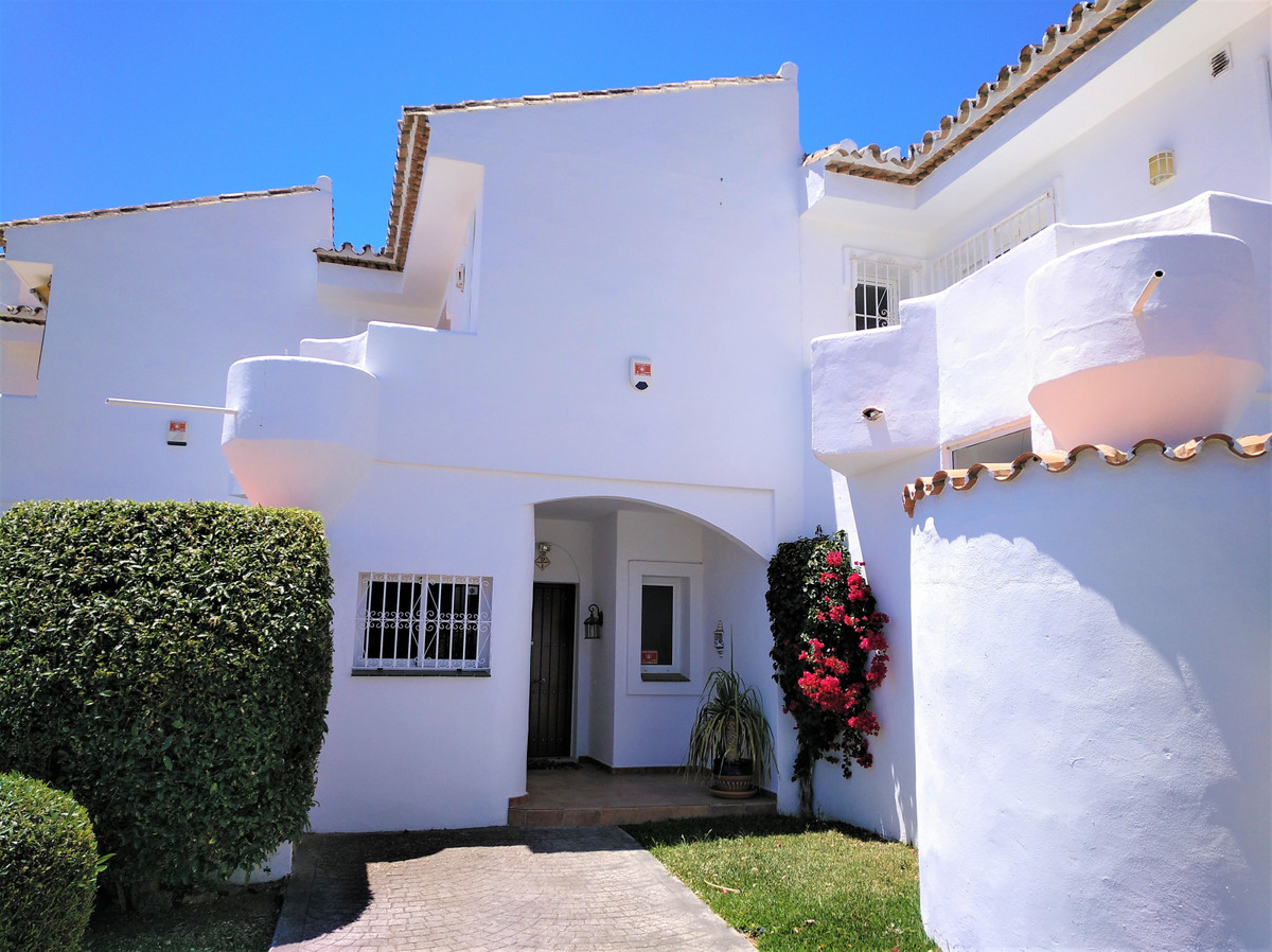 (057) Lovely tastefully decorated Andalucian style townhouse with two double bedrooms, one newly ren,Spain