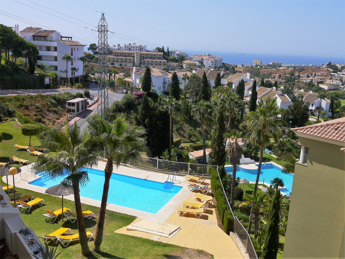 Beautiful apartment with sea views and first line golf. The apartment has 2 bedrooms with fitted war, Spain