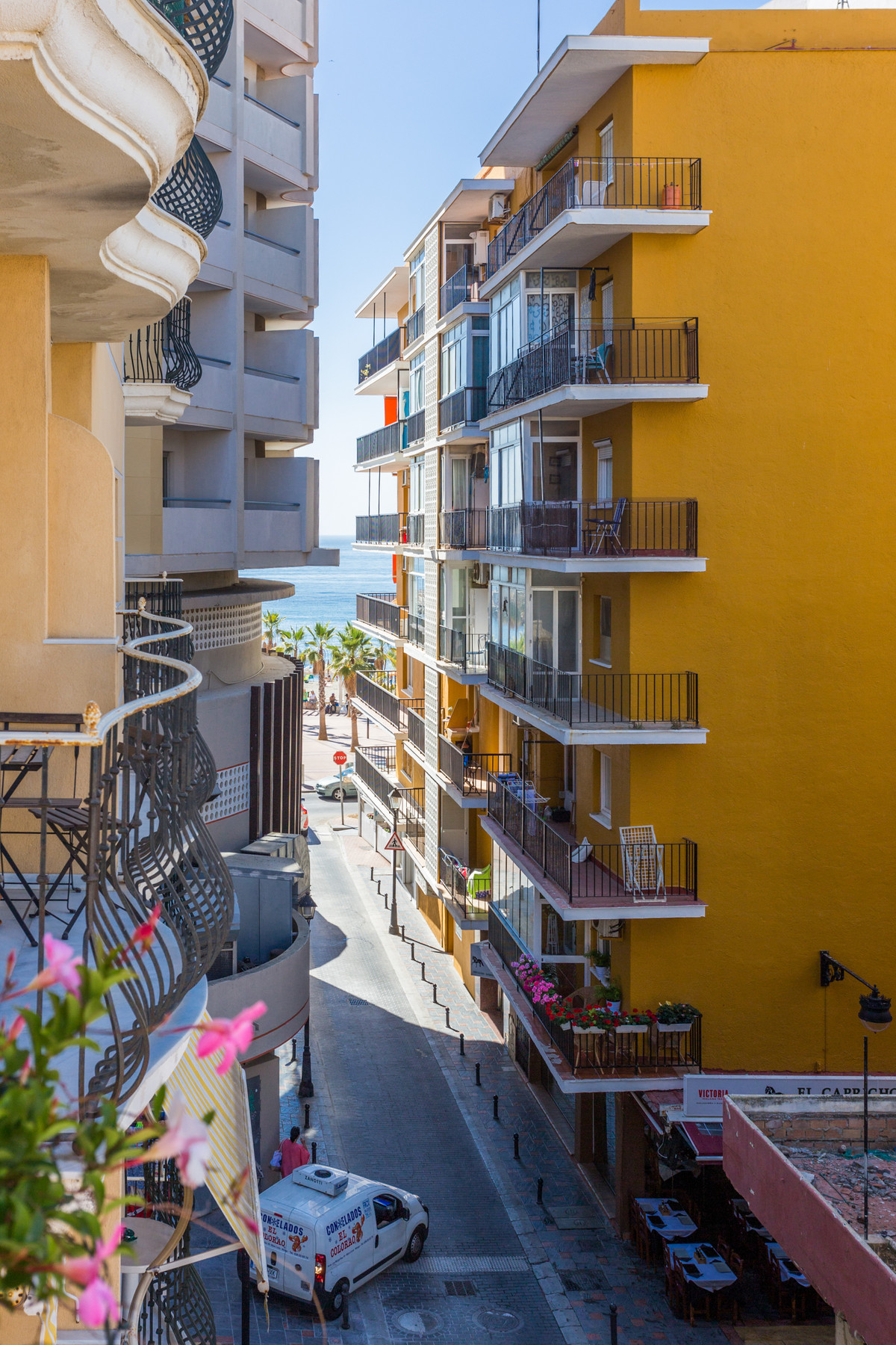Very centric 1 bedroom apartment in Fuengirola! 60 metres from the beach and marina! The apartment h,Spain