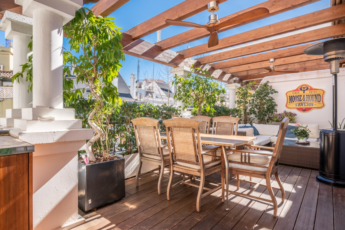 Fantastic completely renovated duplex penthouse with the best location in the heart of Marbella.  Th, Spain