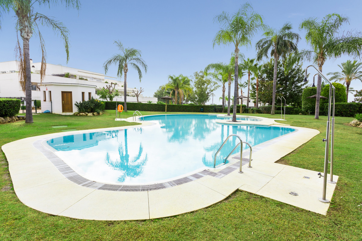 Nice apartment with large patio and garden in Terrazas del Rodeo. Spacious living room with plenty o,Spain