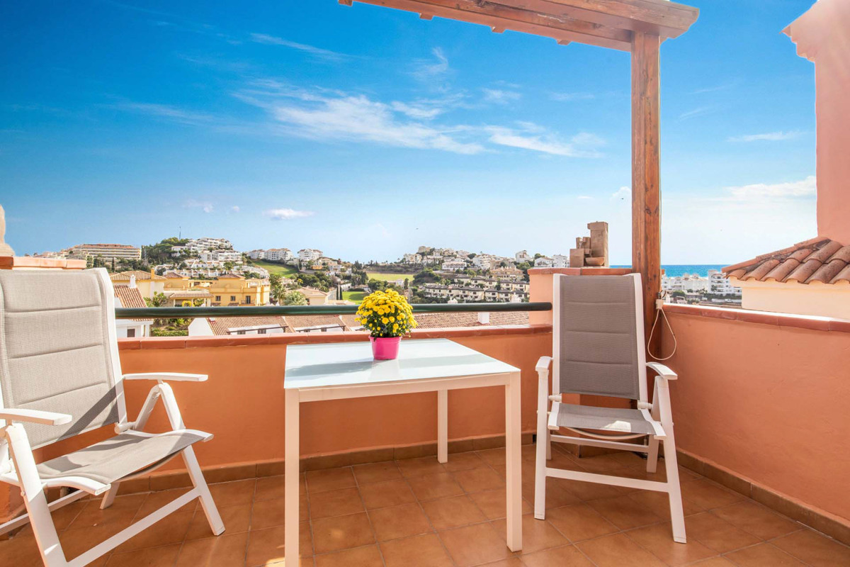 Lovely 2 bedroom penthouse now on the market in Riviera del Sol.  With walking distance to the Rivie,Spain
