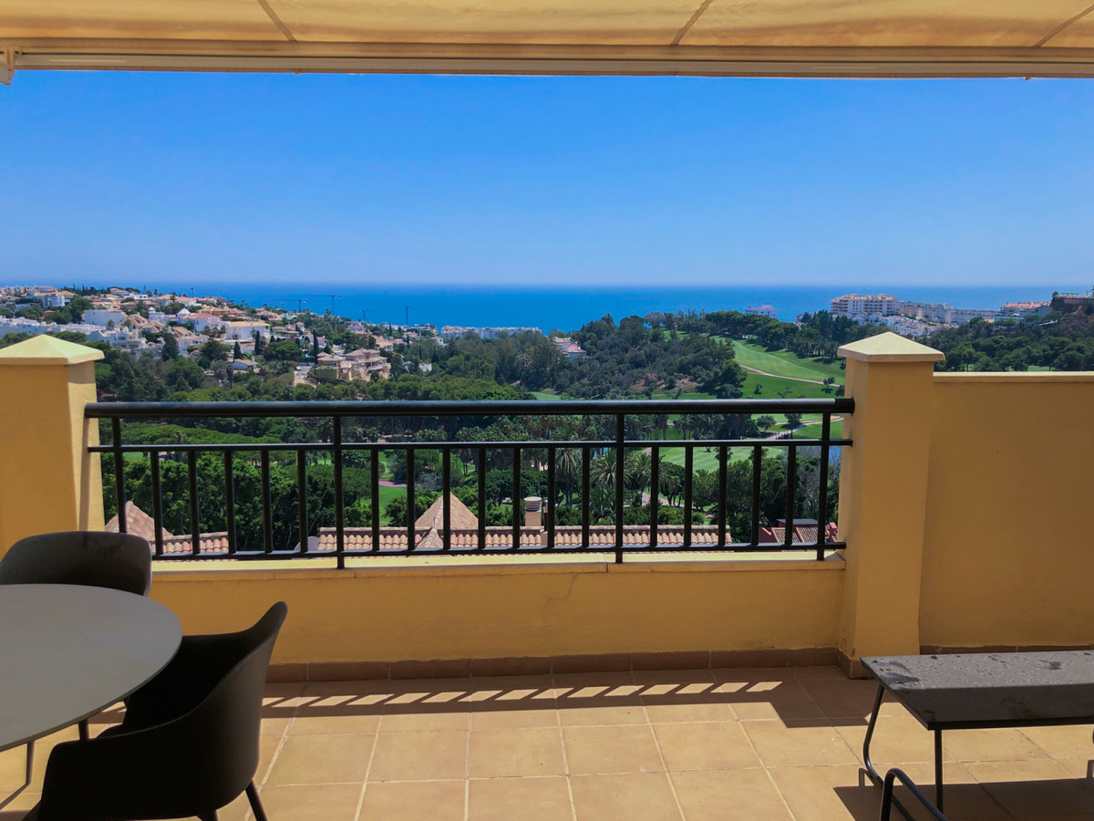 2 bedroom penthouse for sale with beautiful views over the coast, golf and sea!  It's in a very,Spain