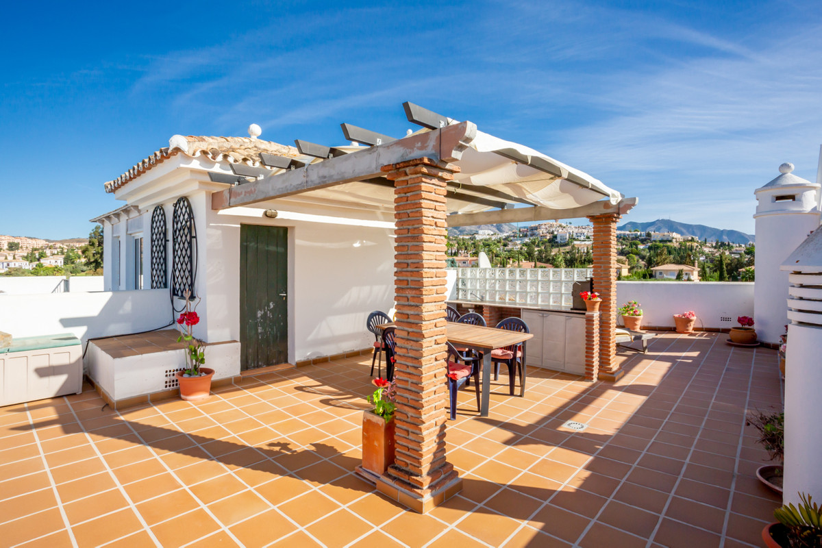 Lovely 2 bedroom penthouse in the heart of Mijas Golf is now for sale.  The apartment itself is loca, Spain