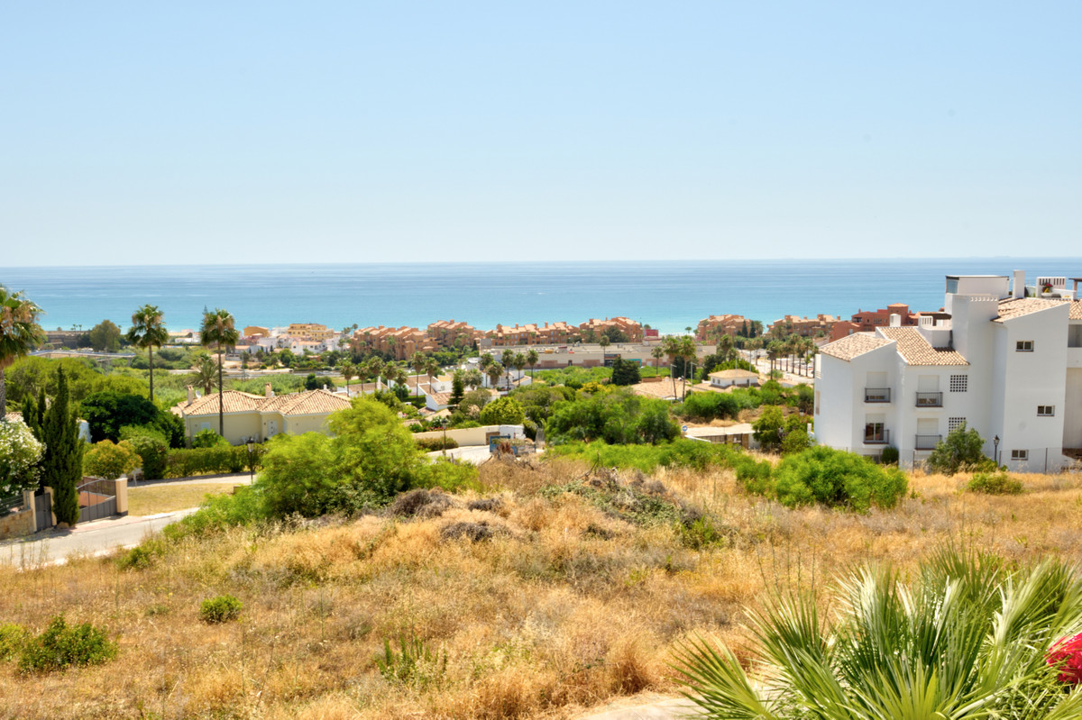 Magnificent sea views from this fabulous two bedroom apartment nestled within a residential area in , Spain