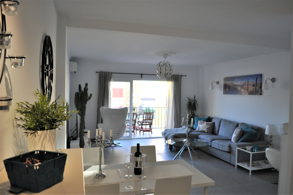 Newly renovated apartment in the center of Fuengirola!  This 3-bedroom, 2-bathroom home has been com,Spain