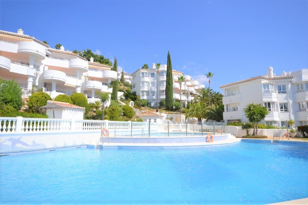 Elevated, 2 bedroom apartment for sale in Calahonda, Mijas Costa.  This property is located in the u, Spain