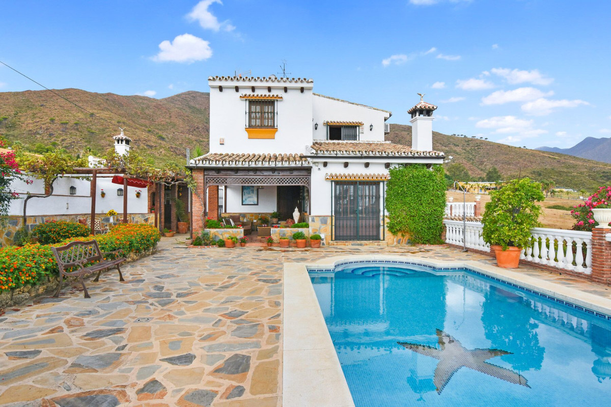 An exquisite Finca offering privacy but 10 minutes from La Cala De Mijas and Fuengirola surrounded b,Spain
