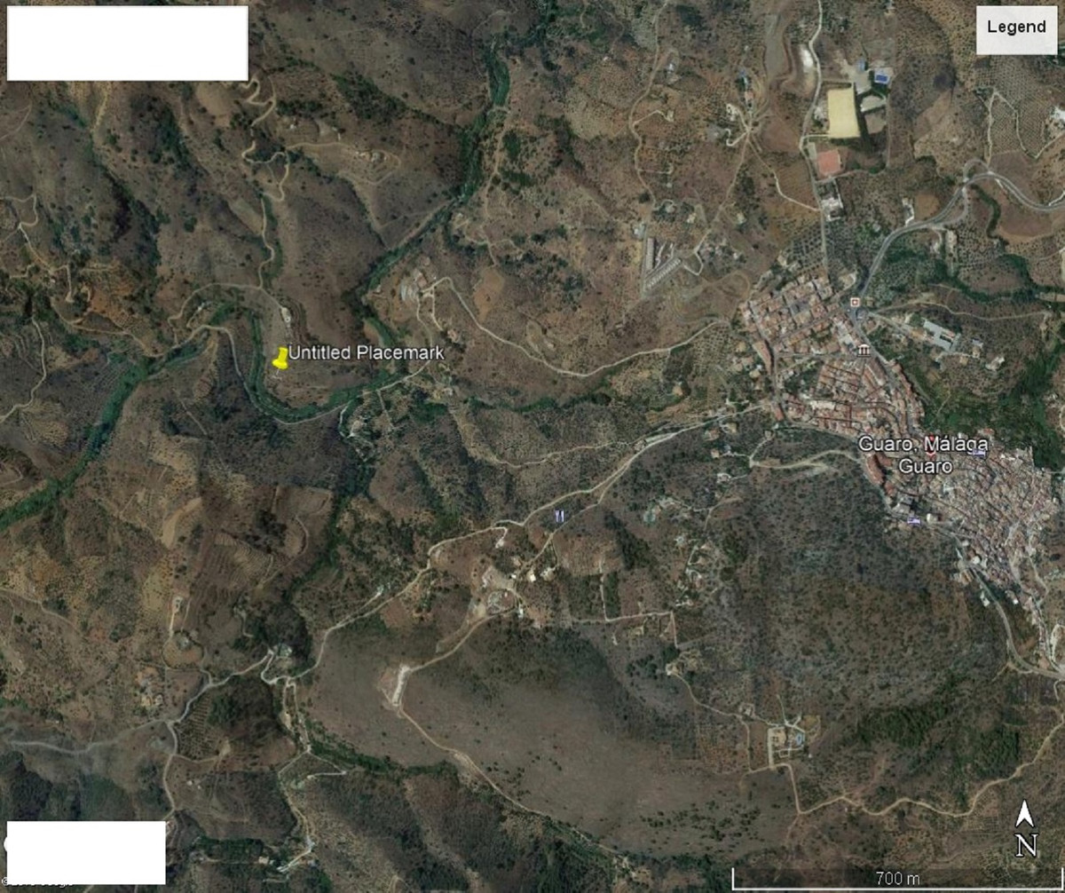 PLOT OF LAND IN GUARO, MALAGA . 9.000 m2 with a small house to be reformed. has a water well that ne,Spain