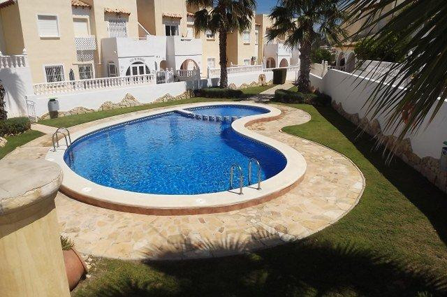 SOUTH FACING 3 BEDROOM  TOWNHOUSE  IN PANORAMA GOLF. Well presented 3 bedroom south facing townhouse,Spain