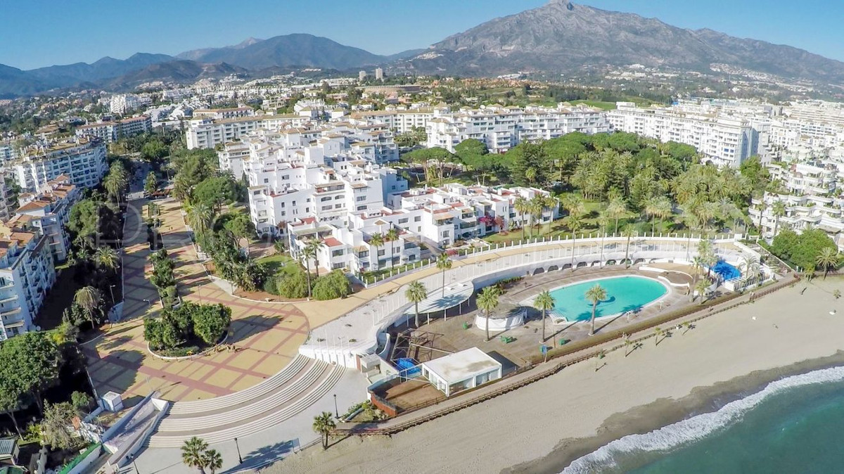 Spectacular sea views from this beachfront top floor Apartment in Puerto Banus. The property is sold,Spain