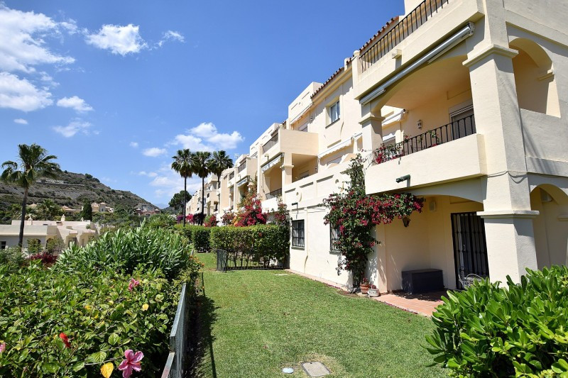 Spacious ground floor apartment in La Quinta Hills, Benahavis with open views to the golf and mounta,Spain