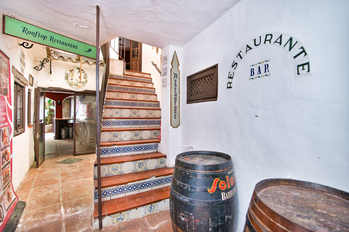 Bar - Restaurant for sale at the Casco Antiguo in Marbella centre   Located in the historic heart of, Spain