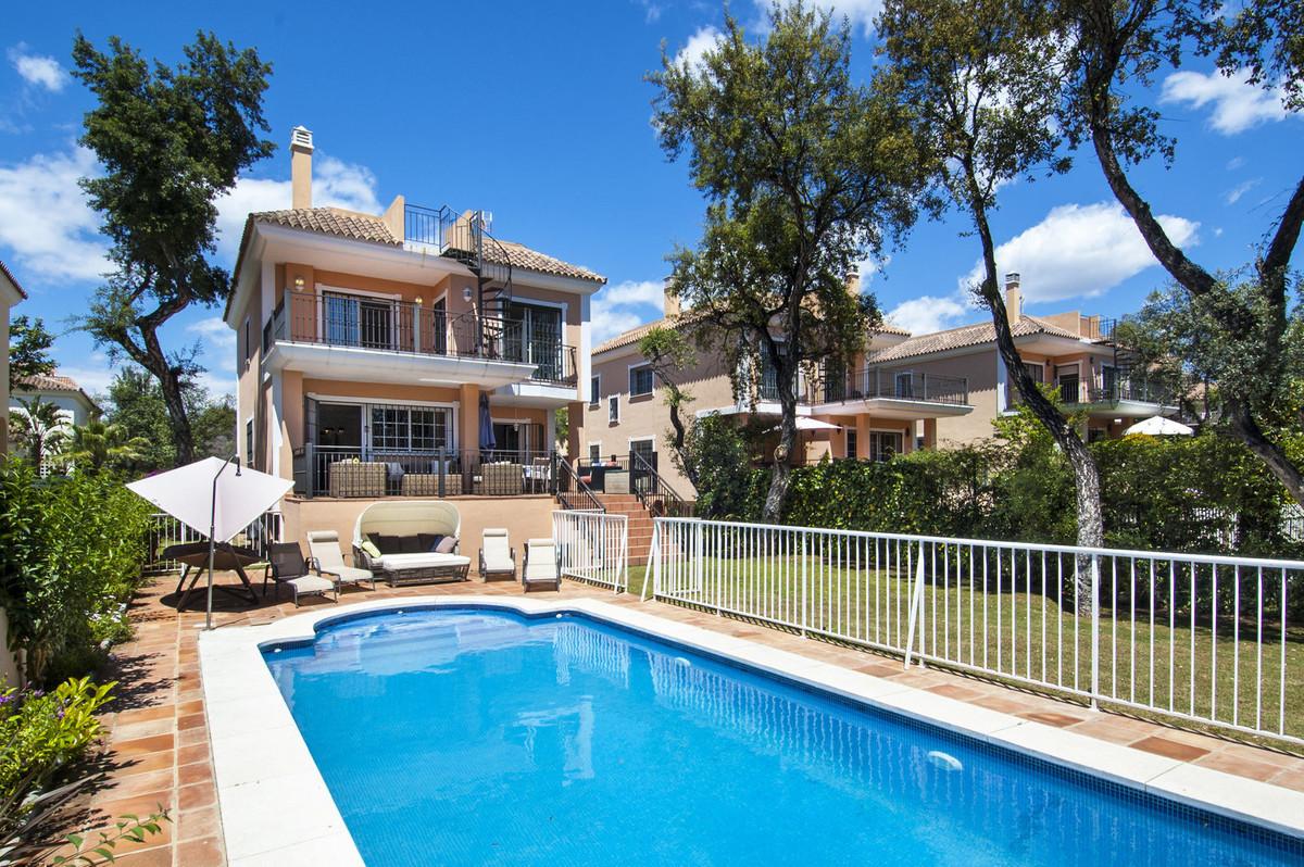 Villa for sale in Elviria, Marbella  Detached villa with private garden and private heated swimming Spain