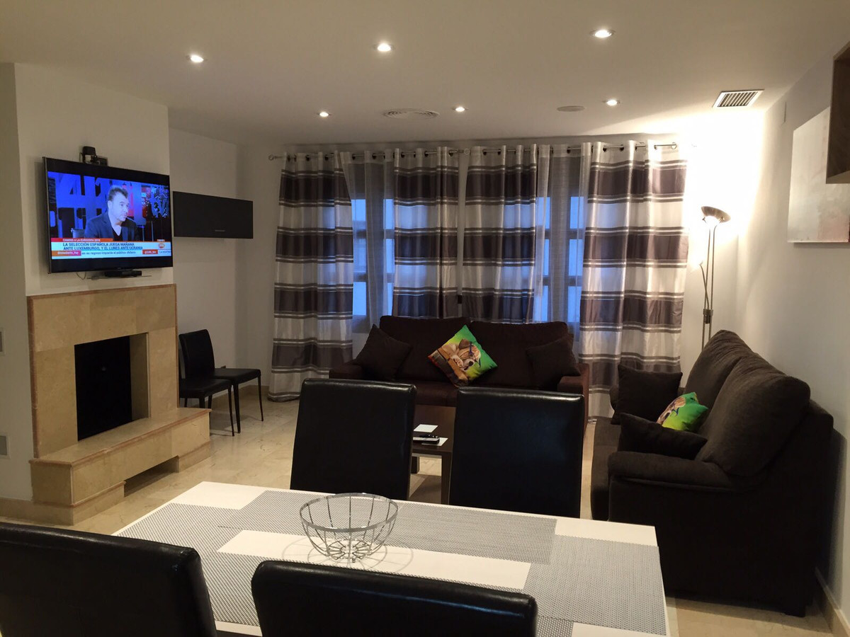 Beautiful apartment in the center of Puerto Banus. 2 bedrooms and 2 bathrooms. Spacious living room ,Spain