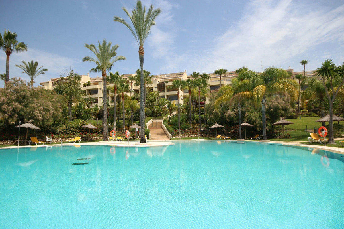 Cozy beachside apartment in one of the best urbanization situated  in Bahia de Marbella. The apartme,Spain