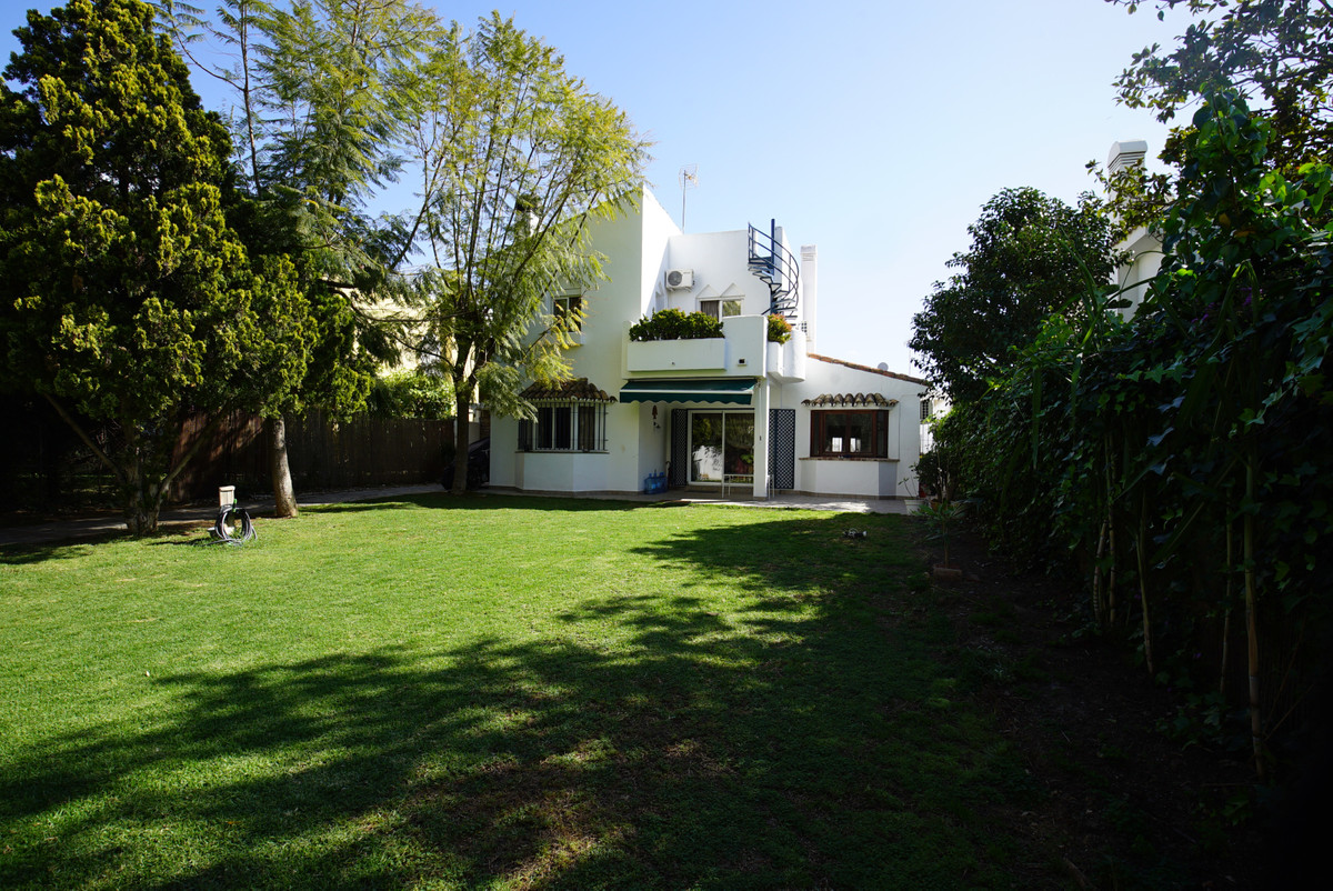Lovely detached beachside house located in Atalaya Park, Estepona, within a short walk to the beach , Spain