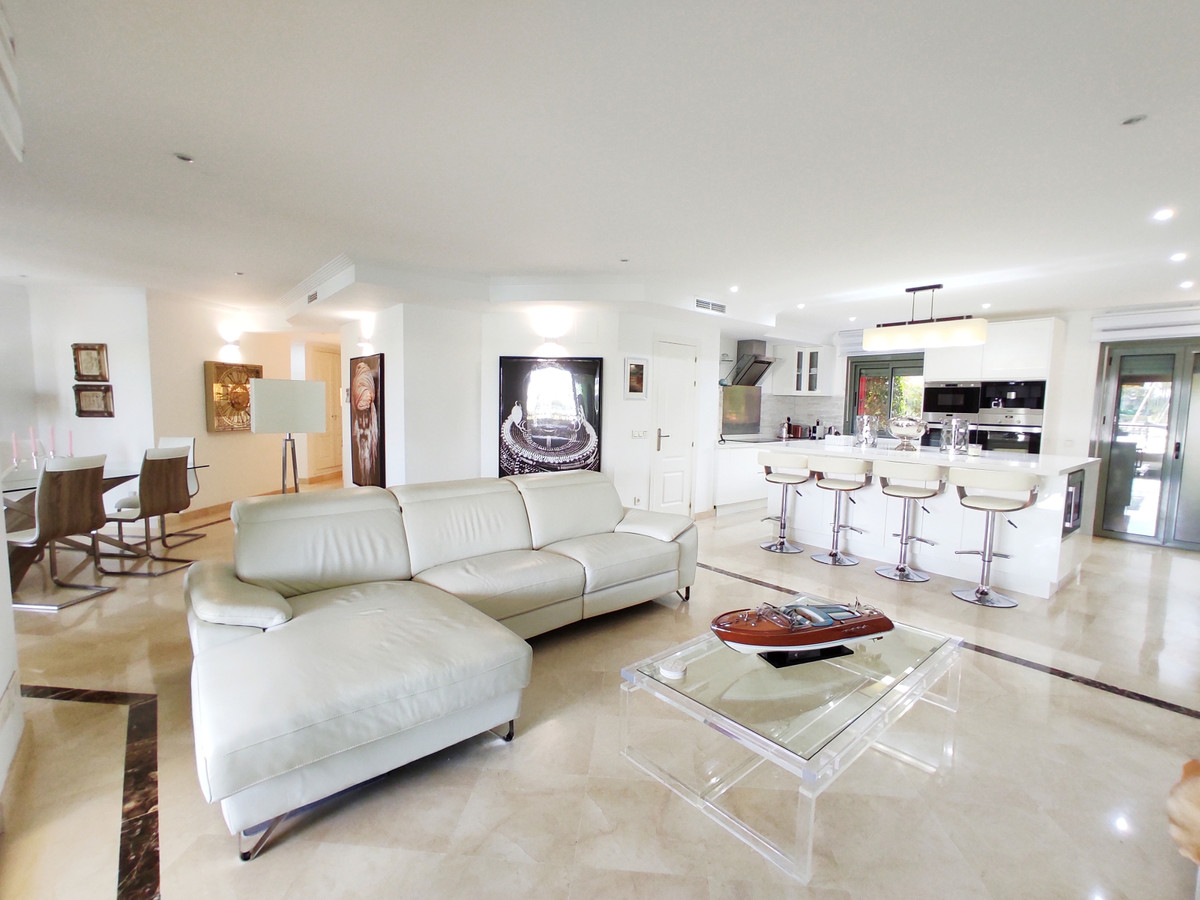 Fully reformed south facing apartment in immaculate condition in Sotogrande Marina.  This property h,Spain