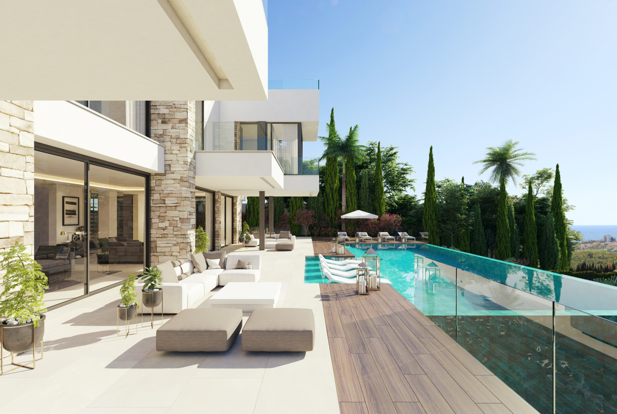 STUNNING CONTEMPORARY VILLA WITH SEA VIEWS Excellent contemporary style villa located in the exclusi,Spain