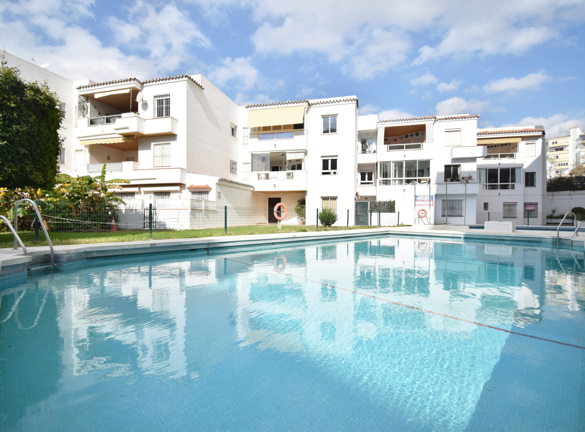 FIRST LINE BEACH IN MARBELLA WITH SEA VIEWS Large property on the beachfront next to the center of M,Spain