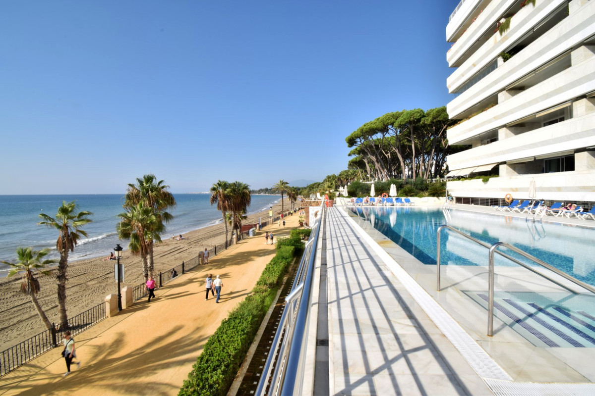 FIRST LINE BEACH PENTHOUSE IN MARBELLA WITH SEA VIEWS AND PRIVATE SWIMMING POOL! Spectacular penthou,Spain