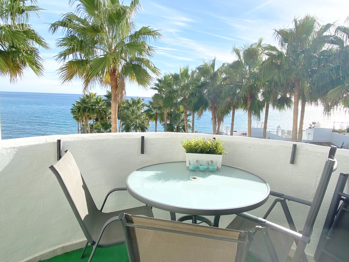 Beautiful first line beach apartment with open sea views  Beautiful apartment on a first line beach ,Spain
