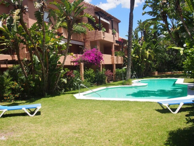 This luxury 2 BED and 2 BATH apartment with the private terrace and access to the pool is located in, Spain