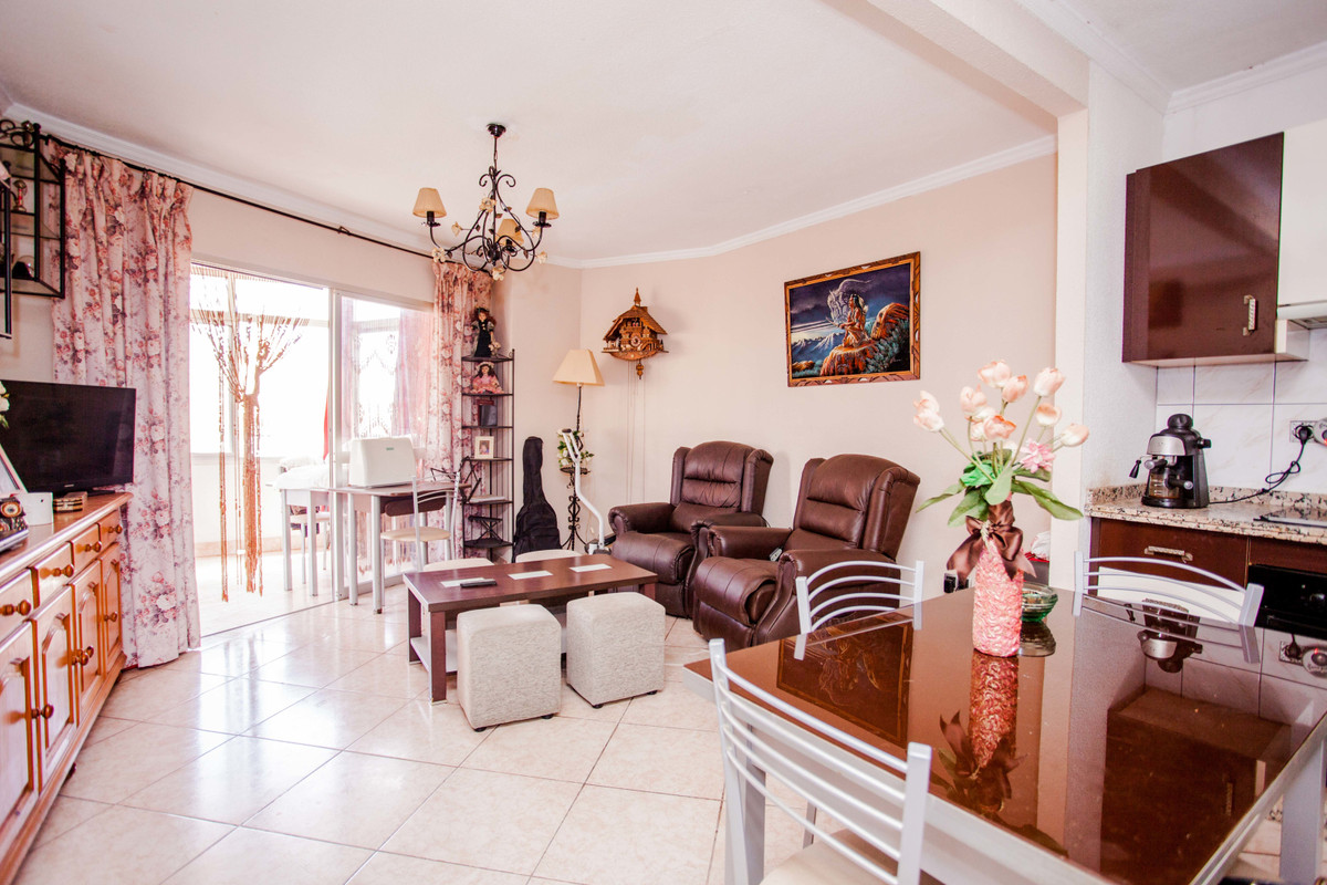 Nice apartment in a quiet area in the very centre of Torremolinos.   Only one minute walk to train s, Spain