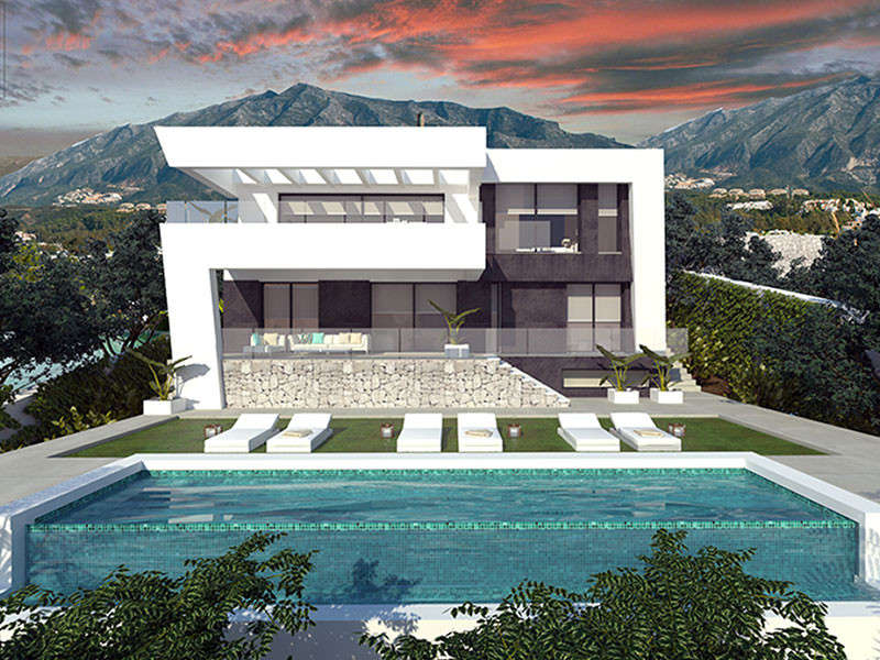 """Villa with Guaranteed Energy Efficiency """"A""""  Eco awareness co-exists with stunning contemporary aest,Spain"""