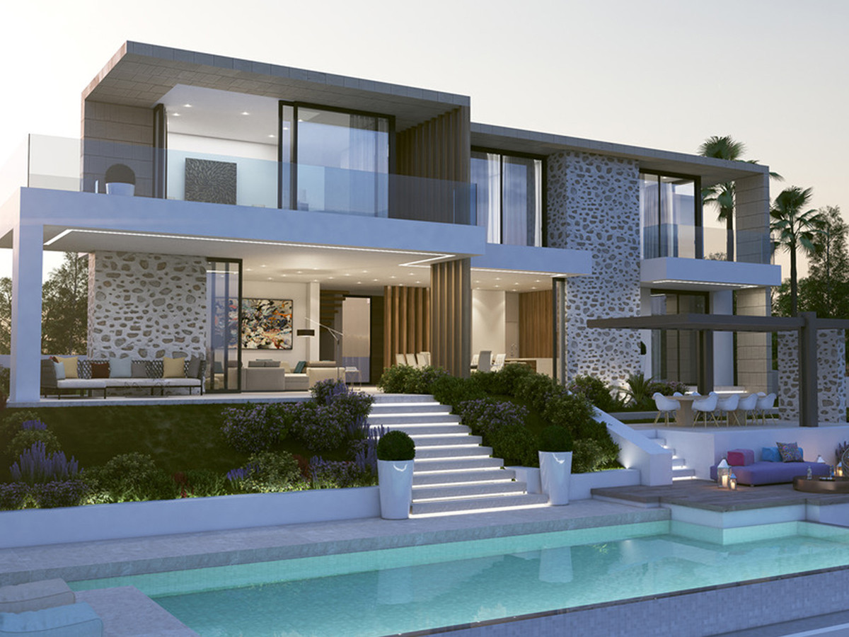 "Energy Efficiency ""A"" Guaranteed Independent Villa in Sotogrande Alto, a short distance fr, Spain"
